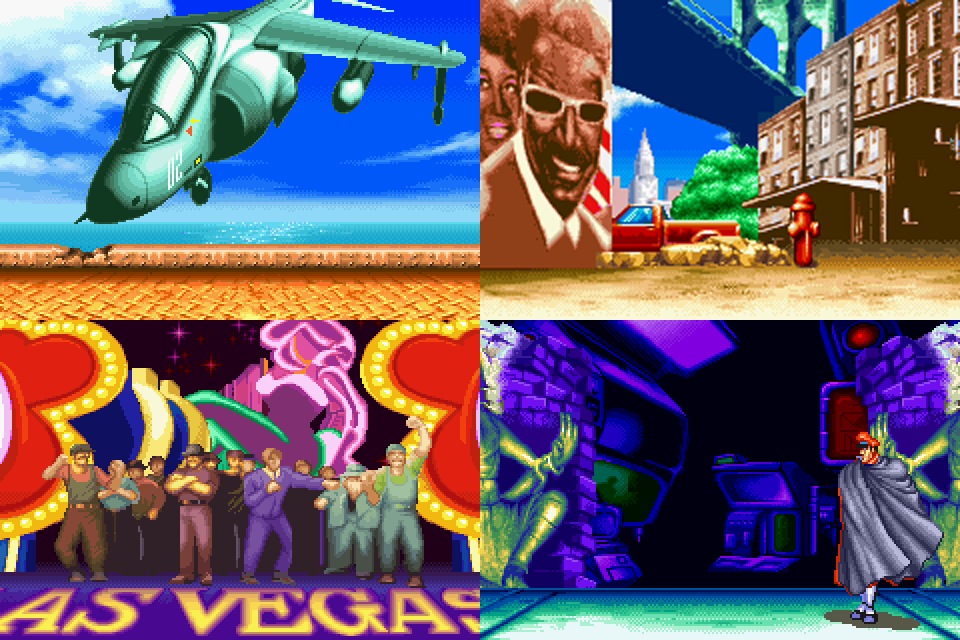 vega stage street fighter 2